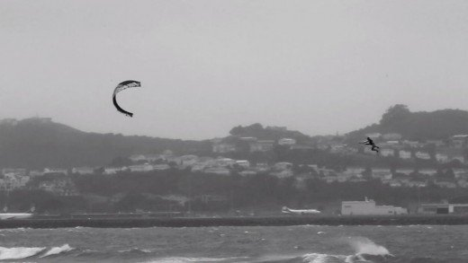 Marc Jacobs Kiteboarding – Wellington, Foxton, New Zealand 2012.03.17