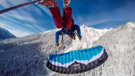 Speedflying Chamonix // Plan Praz (Brévent) 2015