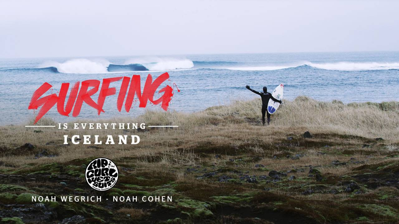 Surfing is Everything: Iceland