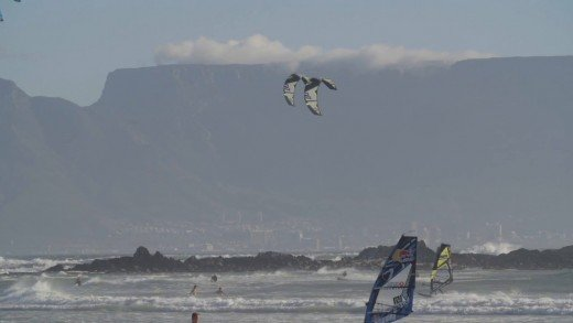 Training for King of the Air 2015 with Team Naish