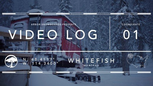 Arbor Snowboards :: Video Log – Whitefish