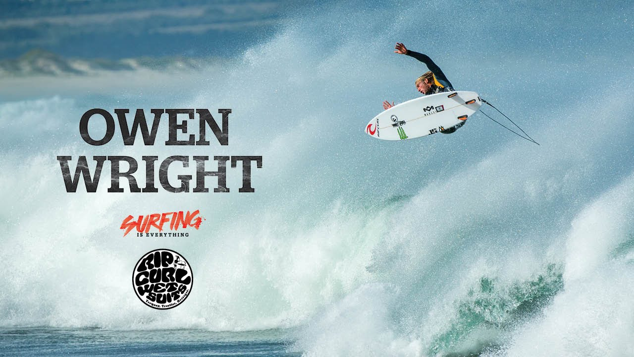 Owen Wright: Searching in South Africa – Surfing is Everything