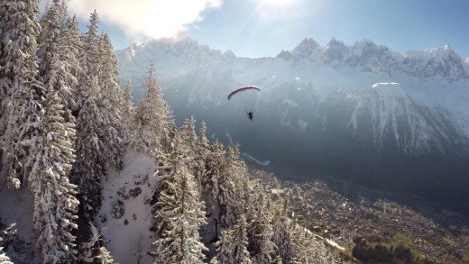 Taste the sky // Speedflying Chamonix (Brévent and Plan Praz) part 2 – 2015