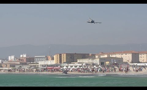 Spectacular show on day 5 of VKWC Tarifa 2015
