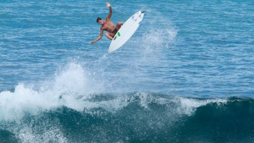 Reubyn Ash Surfing in Indonesia 2015
