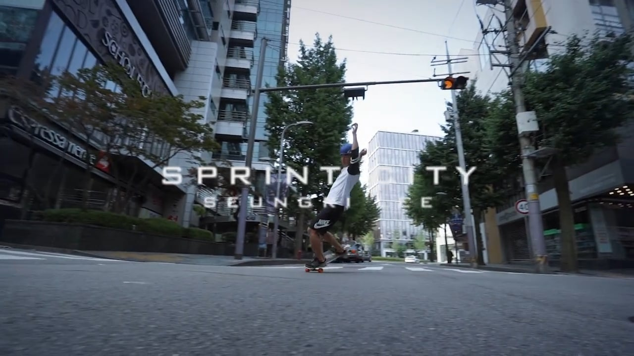 "LOADED KOREA ""SPRINT CITY – SEUNG LEE"""