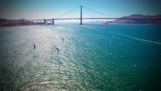 Golden Gate, Alcatraz & Kitefoils