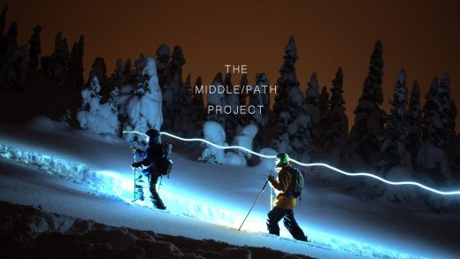 The MIDDLE/PATH Project Trailer – an EcoConscious Shred Flick