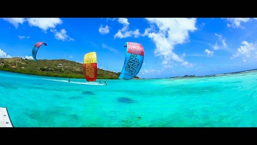 Kitesurfing Union Island – Feat. Jeremie Tronet, Craig Cunningham and Colleen Carroll