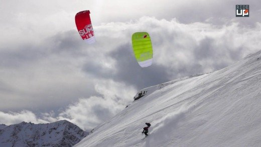 "Snowkite ""Early winter"""