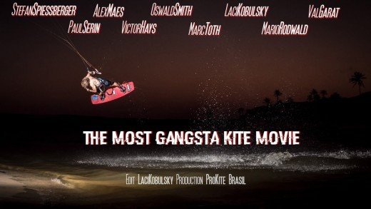 """The Most Gangsta Kite Movie"" @ProKite Brasil"
