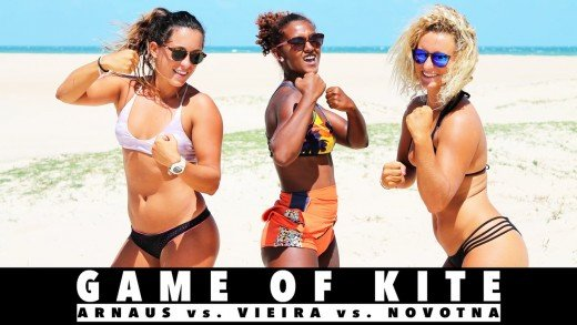 Game of KITE – Rita Arnaus vs Dioneia Vieira vs Paula Novotna
