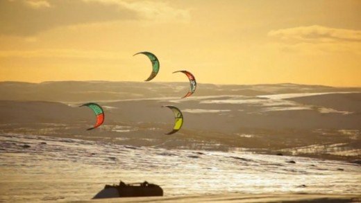 Snow Camp – snowkite camp movie