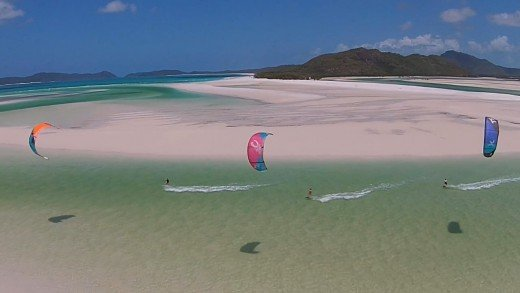 Adventuring the Whitsunday Islands, Australia.