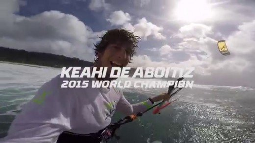 Keahi de Aboitiz – 2015 Kitesurfing World Champion