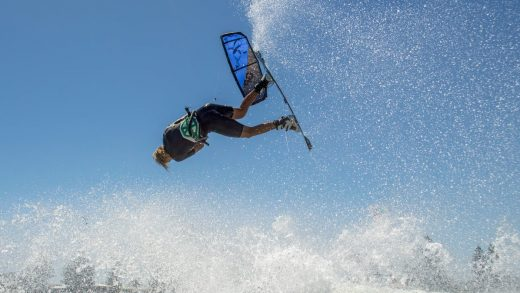 kiteboarding Down Under