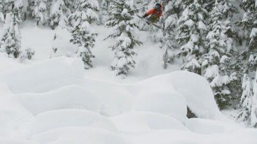 Sammy Carlson Narrowly Misses Avalanche, Jumps Into Trees Instead–Wild Child Episode 1