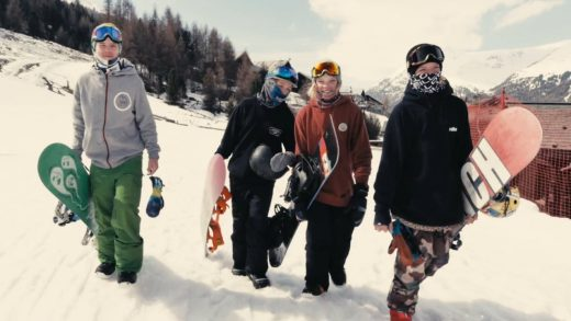 YOUNG BLOOD LIVIGNO TAKE OVER BY WOLAKBROS