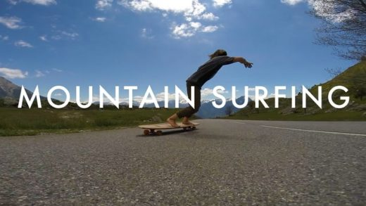 Paris Truck Co: Laurent Perigault Mountain Surfing
