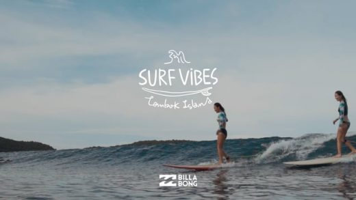 SURF VIBES Lombok Island presented by Billabong 서프바이브즈 롬복아이랜드