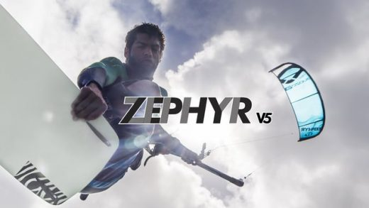 OZONE ZEPHYR V5 – MAKING LIGHT WIND RIDING A BREEZE