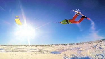 This is Snowkiting 2016