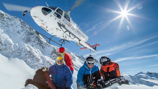 Get ready for take off! Heliskiing Valgrisenche/Aosta-Valley