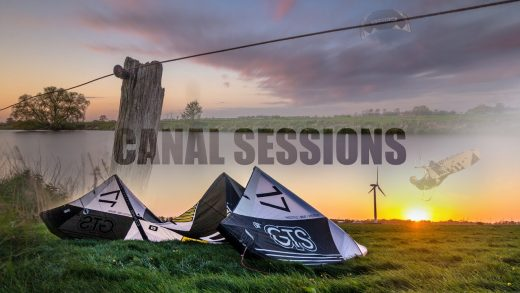 Kiteboarding A River – Canal Sessions With Ben Beholz HD